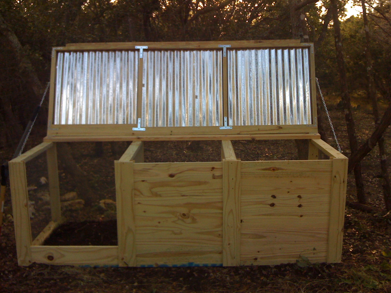 How To Build A  Bay Compost Bin
