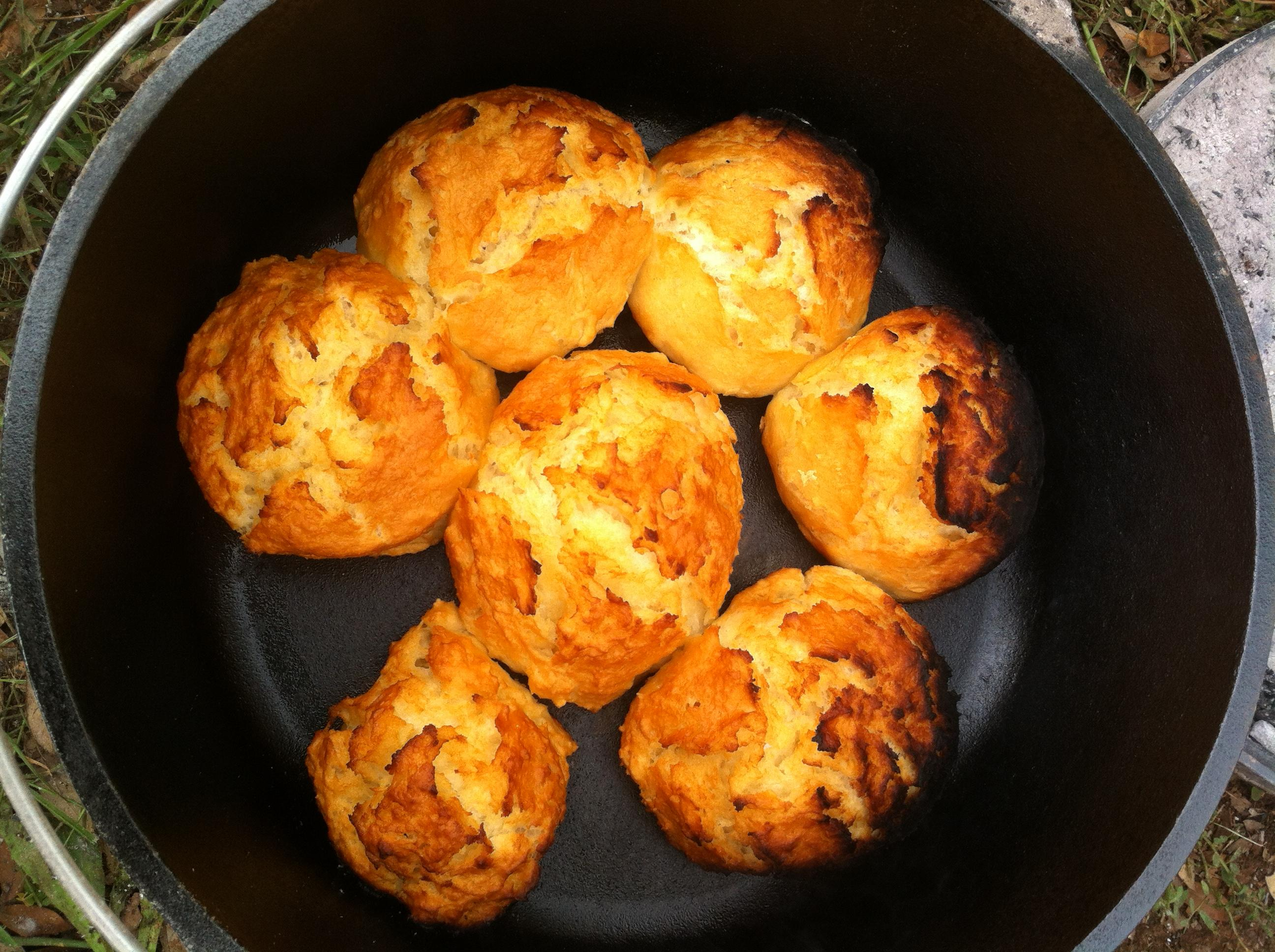 Campfire Dutch Oven Biscuits Ryan Boren