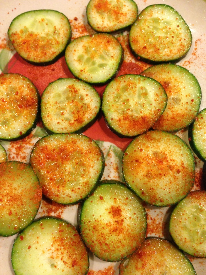 Cayenne Lime Cucumbers