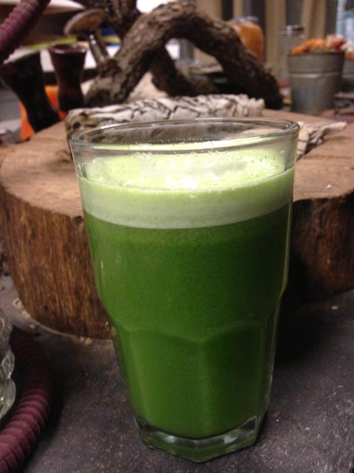 Sparkling Cucumber Apple Juice