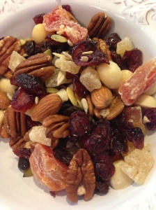 Raw Nuts and Dried Fruit