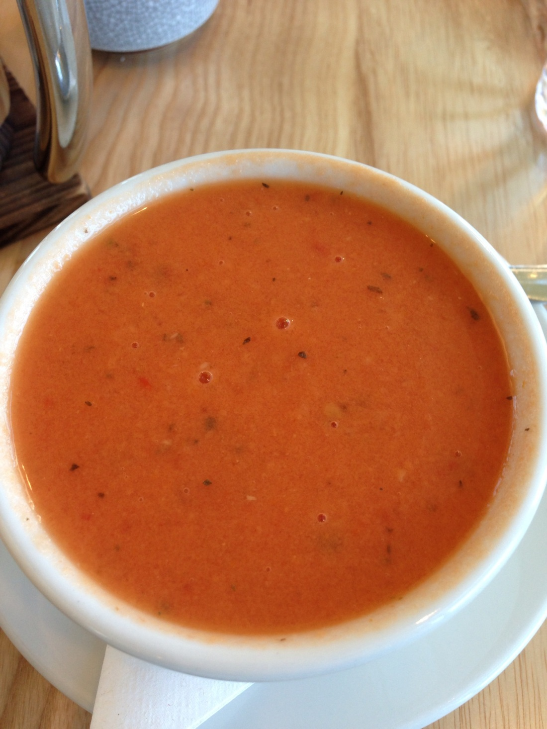 Tomato Coconut Bisque