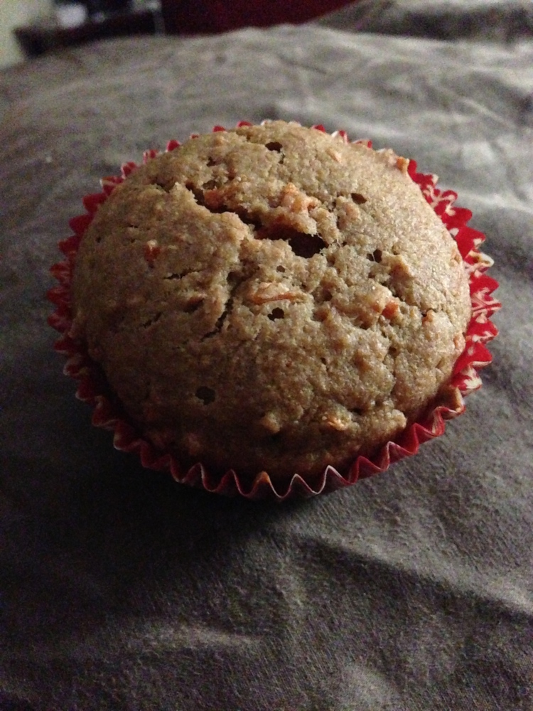 Vegan Carrot Cake Muffin