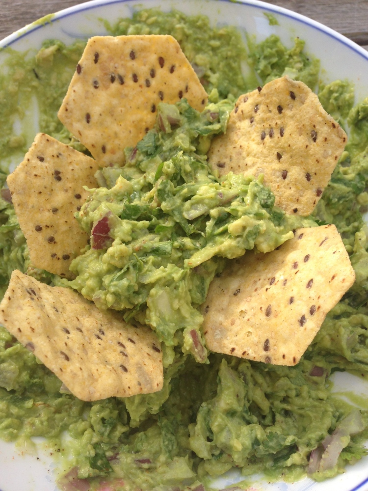 Guacamole with Multigrain Chips