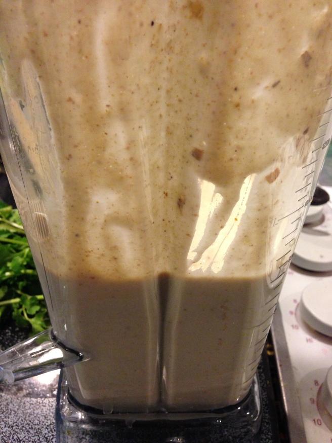 Almond Sour Cream in Blender