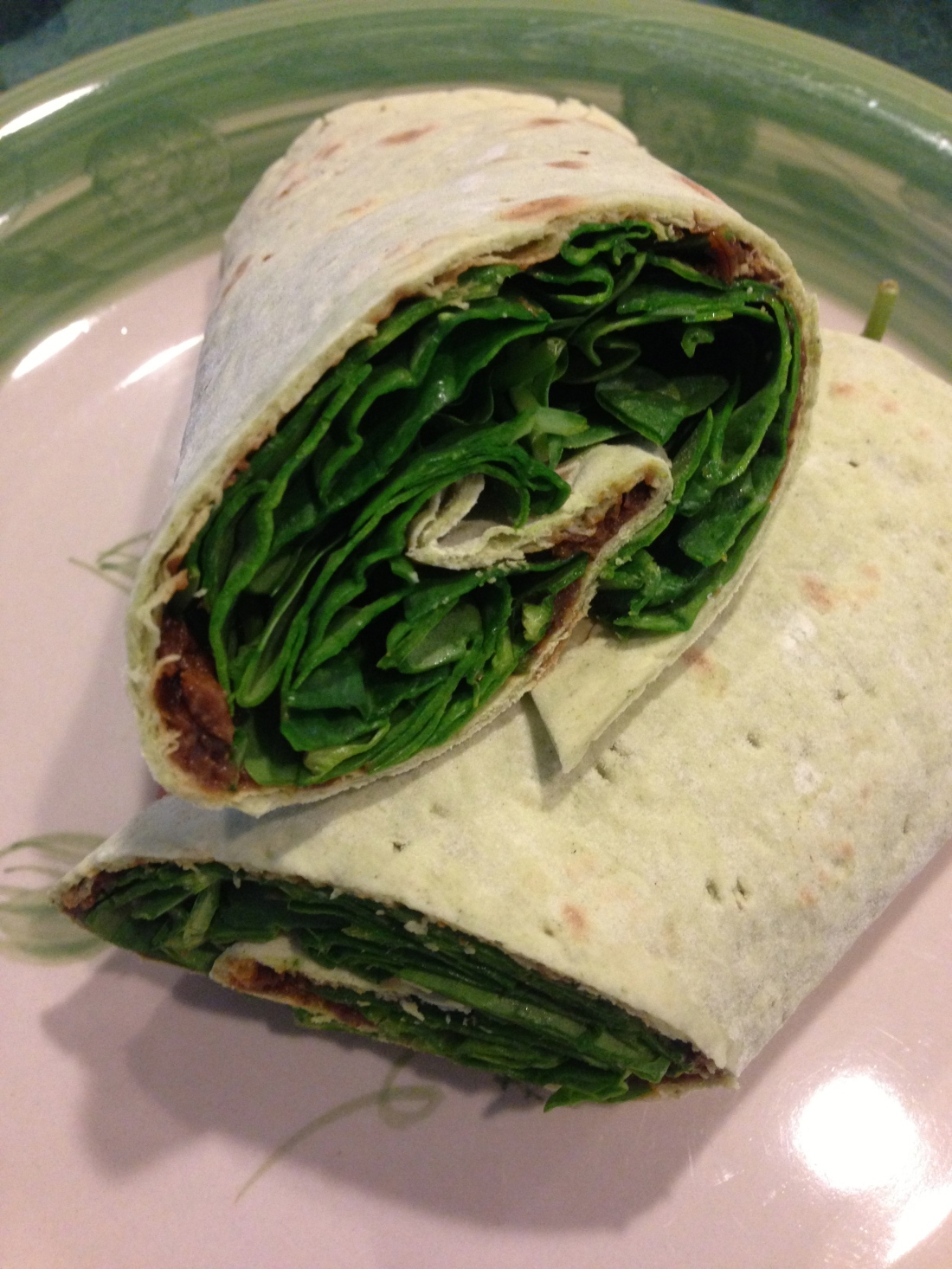 Miso Spinach Wrap