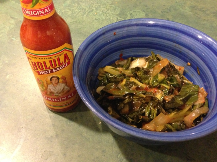 Cholula Collard Greens