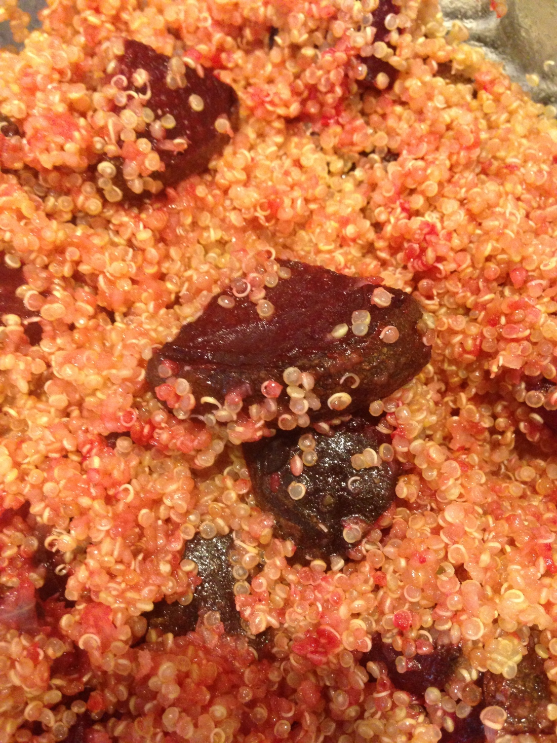 Roasted Beets and Quinoa