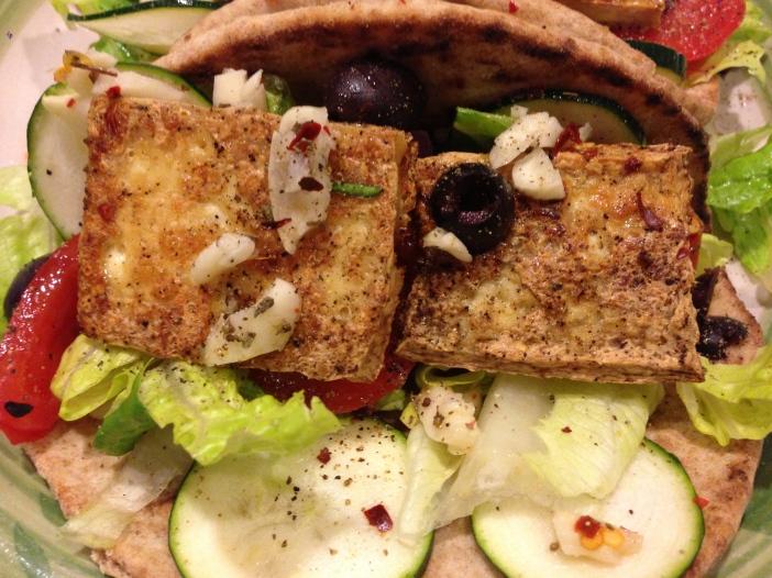 Roasted Tofu Gyros