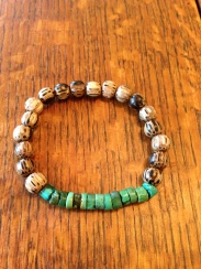 Patikan and Tibetan Turquoise Bracelet
