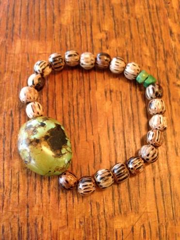 Patikan and Turquoise Bracelet