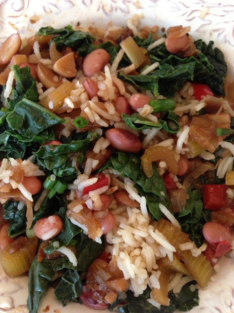 Red Beans and Rice and Kale