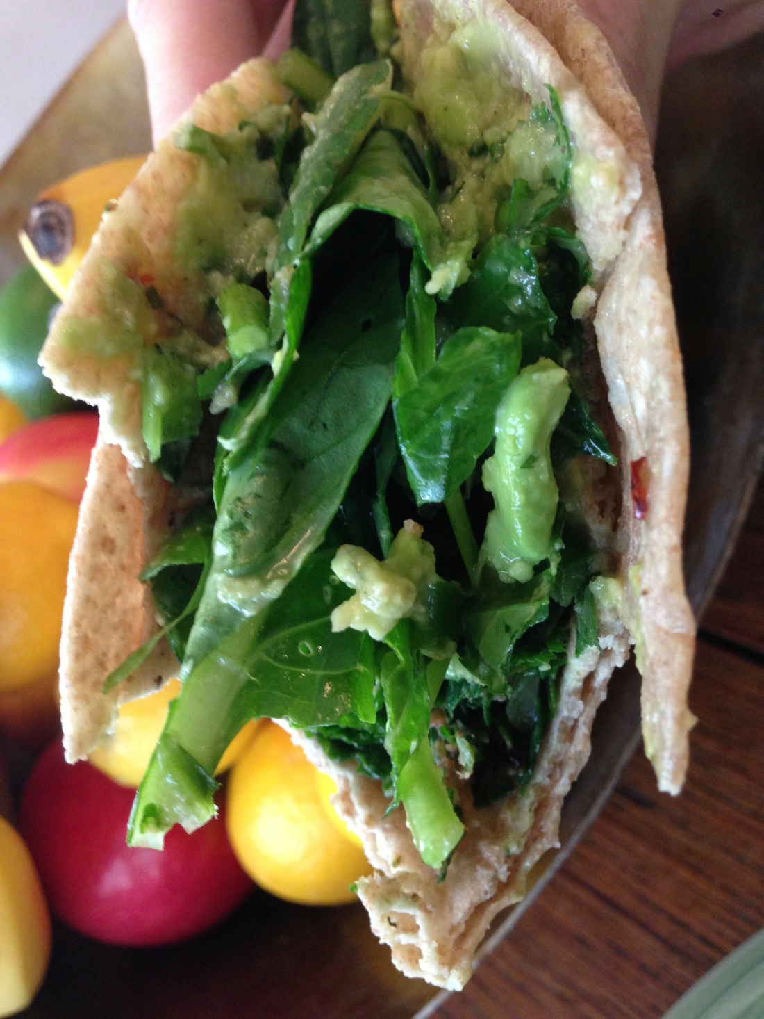 Leafy Green Taco