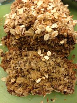 Coconut Quinoa Banana Bread