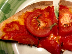 Tomato and Basil Pizza