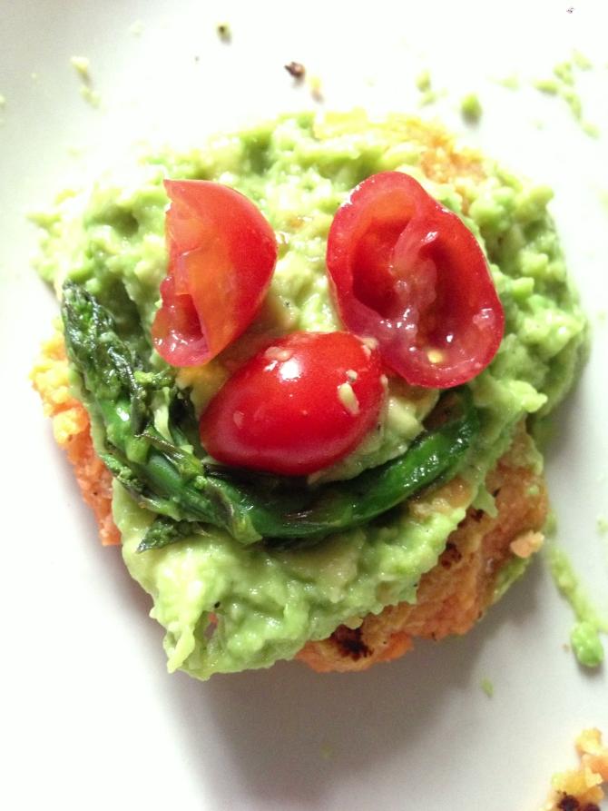 Vegan Plate Face