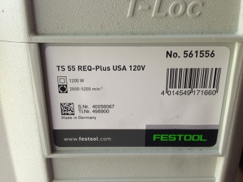 Festool TS 55 REQ Track Saw
