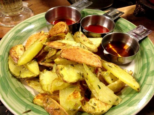 Rosemary Baked Fries