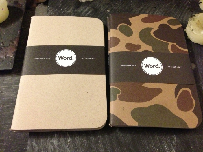 Word. Notebooks
