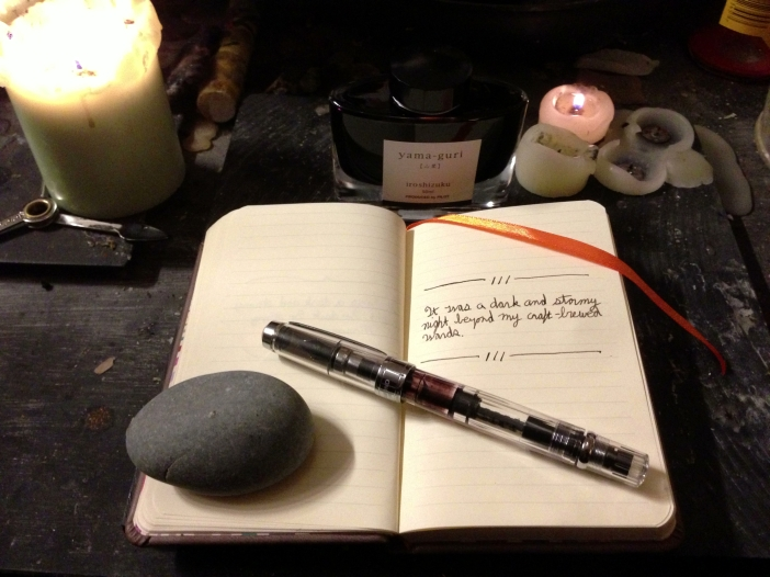 Pen, Paper, Ink