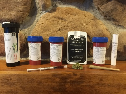 CBD patches, high CBD flower and oil, and a pure sativa landrace